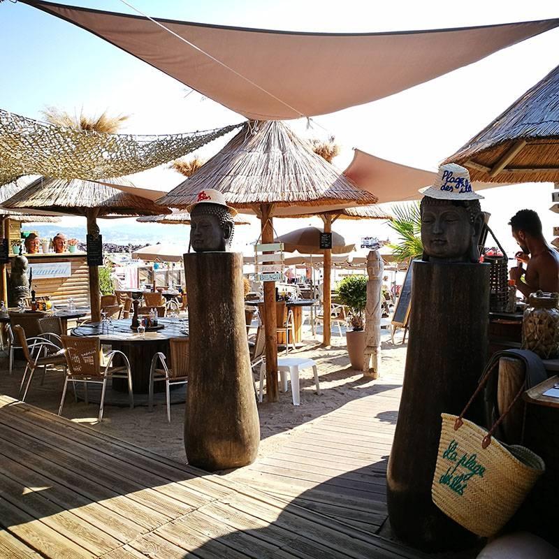 Le Restaurant - Plage des Îles - Restaurant Mandelieu-la-Napoule